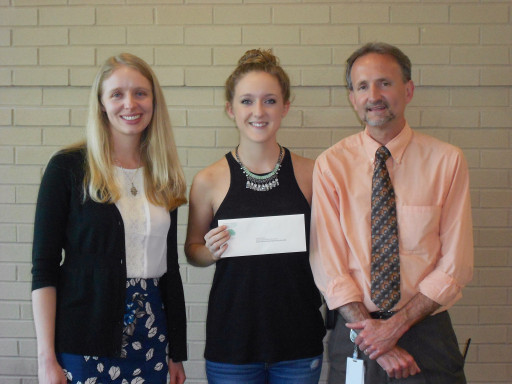 Barbara Ingram scholarship winner