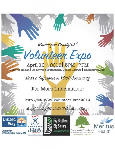 Volunteer Expo Flyer  with reg links