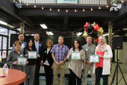 Presenting Sponsors and Prize Winners