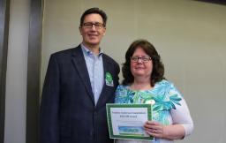 Pauline Anderson Prize Winner